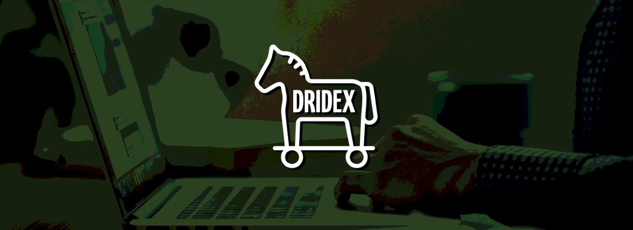 Dridex banking trojan logo
