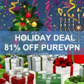 Holiday Deal: Protect Your Privacy with a PureVPN 3 Year Subscription for $69 Image