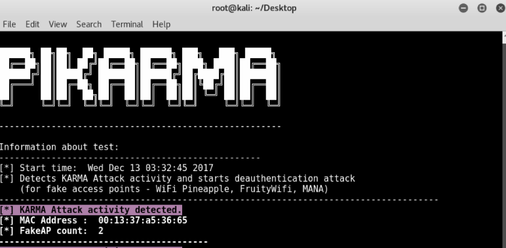 PiKarma Python Script Helps You Identify Malicious WiFi Networks