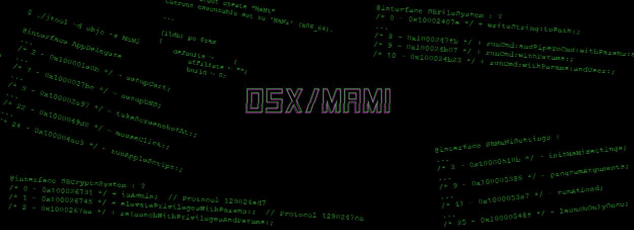 OSX/Mami
