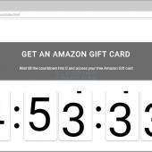Sites Promoting Free Amazon Gift Cards Don't Deliver What You Are Expecting Image