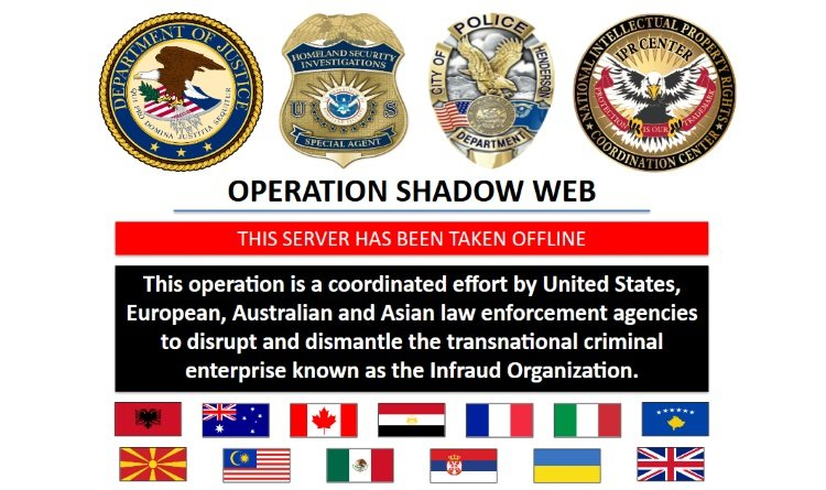 U.S.  announces takedown of $530 million cyberfraud network