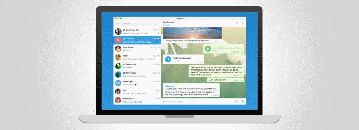 Telegram affected by zero-day
