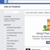 Facebook Launches a Jobs Section —Because of Course It Would! Image