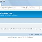 R.I.P. Kernelmode.info - Popular InfoSec Site Closes Down Image