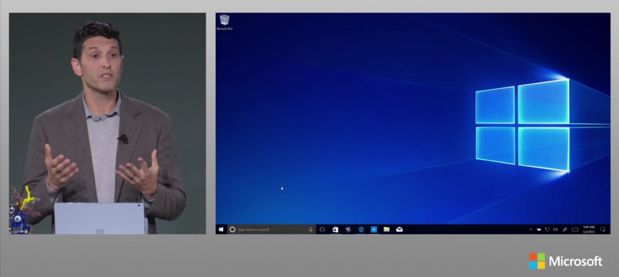 Windows 10 S announcement at MicrosoftEDU