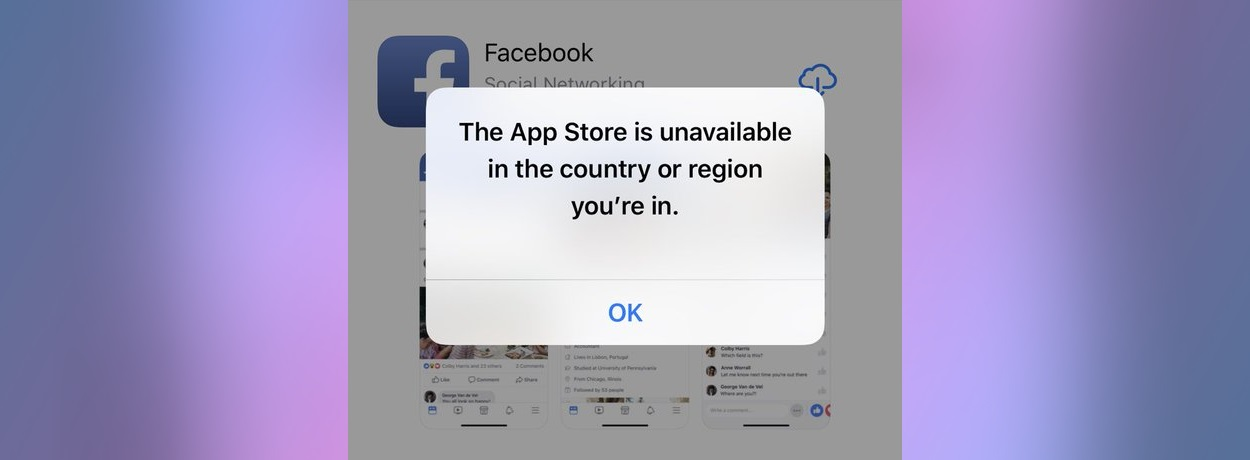 Iranians banned from the App Store