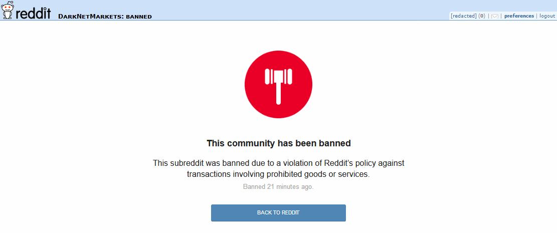 Reddit Bans Community Dedicated to Dark Web Markets