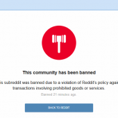 Reddit Bans Community Dedicated to Dark Web Markets Image