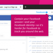 Firefox Add-On Isolates Facebook Tracking From the Rest of the Browser Image