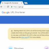 Google Shuts Down Goo.gl URL Shortening Service Image