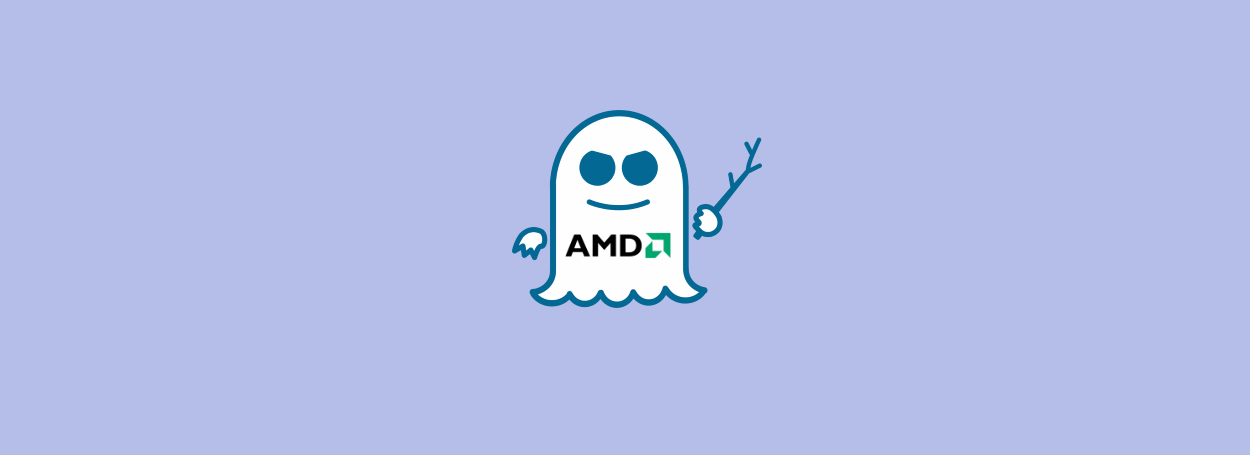Spectre and AMD logos