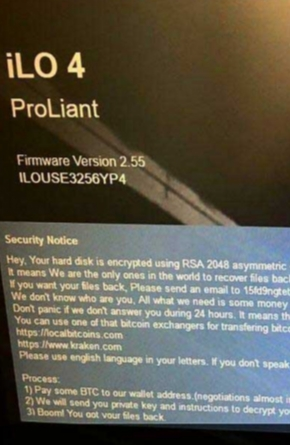 Ransomware Hits HPE iLO Remote Management Interfaces Image