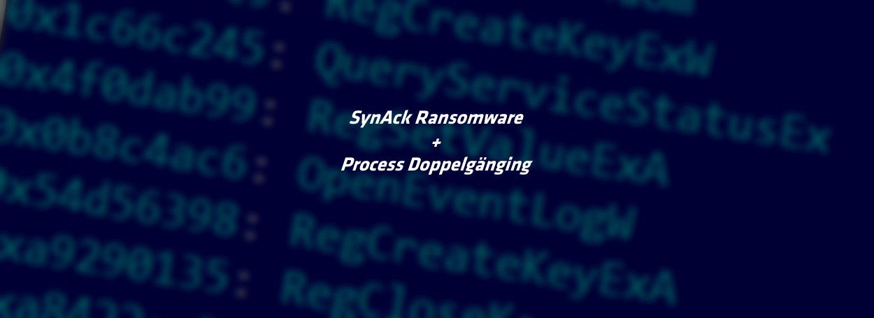 SynAck ransomware