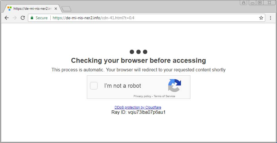 Adware Launches In-Browser Mining Sites Pretending to be Cloudflare