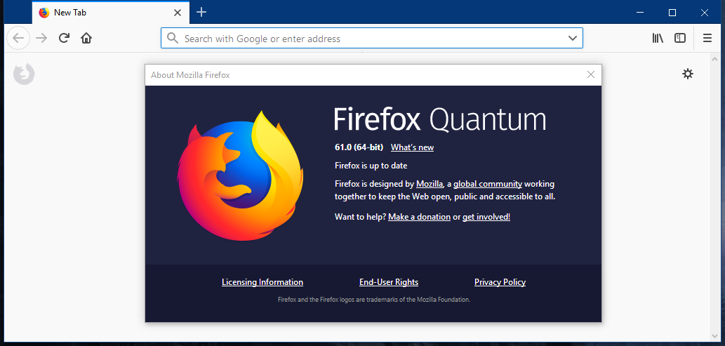 Firefox 61 Released for Windows, Mac, and Linux