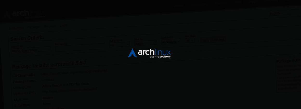 Arch-aur-logo