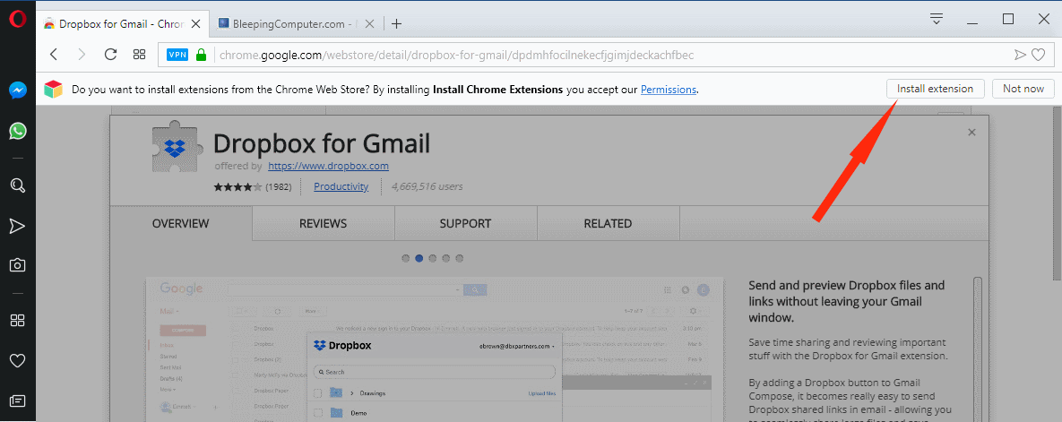 You Can Now Install Chrome Extensions in Opera Directly