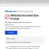 Malwarebytes Browser Extension Blocks Malware, Scams, Ads, & Trackers Image