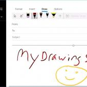 New Windows 10 Mail App Update Lets You Draw Your Emails Image