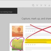 Windows 10 Screen Sketch App Renamed to Snip & Sketch in Insider Builds Image