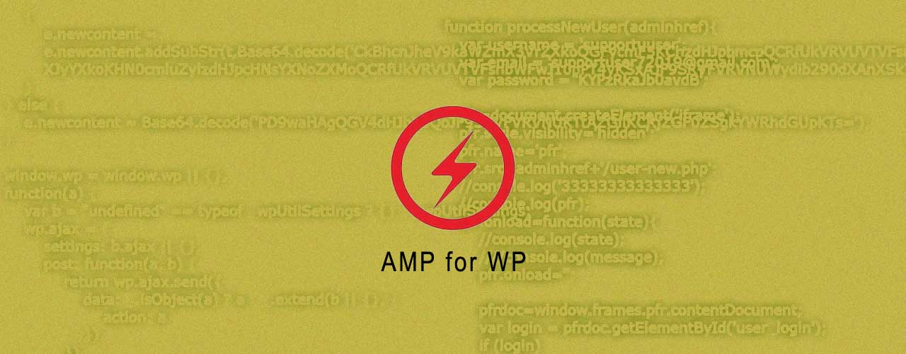Active XSS Attacks Targeting Amp for WP WordPress Plugin