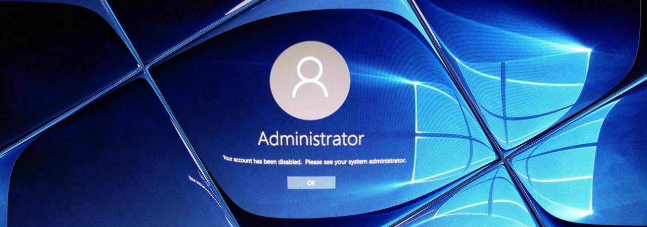 Updating to Windows 10 1809 Deactivates Built-in Admin Account