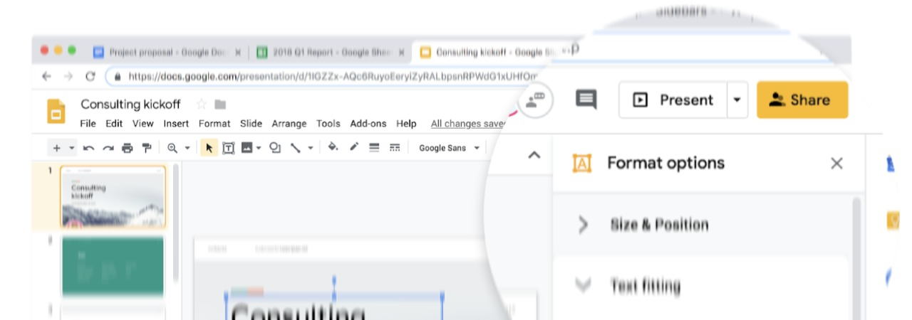 Google Docs, Sheets, Slides, and Sites Get Material Design