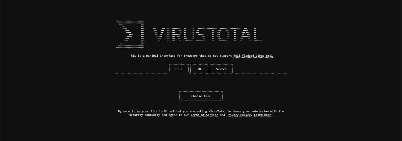 Virustotal-header