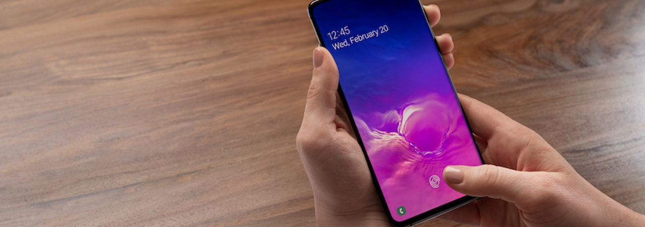 Samsung Galaxy S10 Fingerprint Scanner Tricked with 3D Print