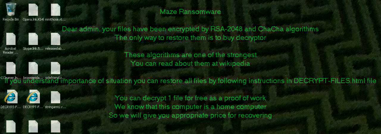 Maze Ransomware Says Computer Type Determines Ransom Amount