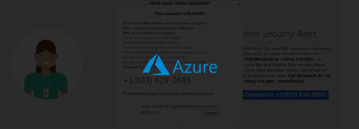 Azure Tech Support Scam