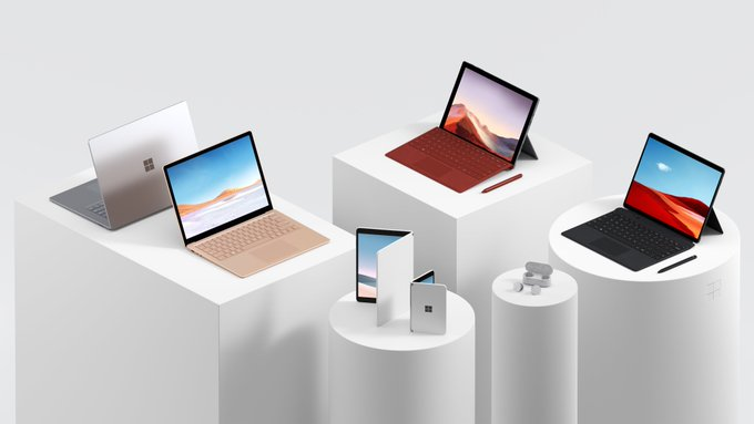 Microsoft Launches New Dual-Screen Surface Devices