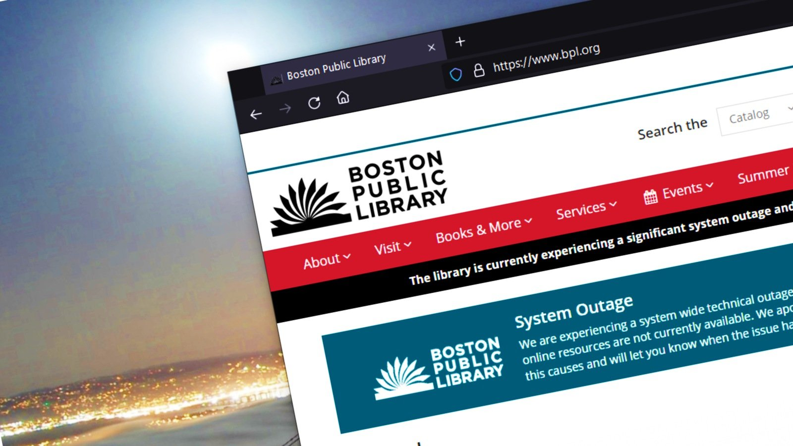 Boston Public Library discloses cyberattack, system-wide technical outage