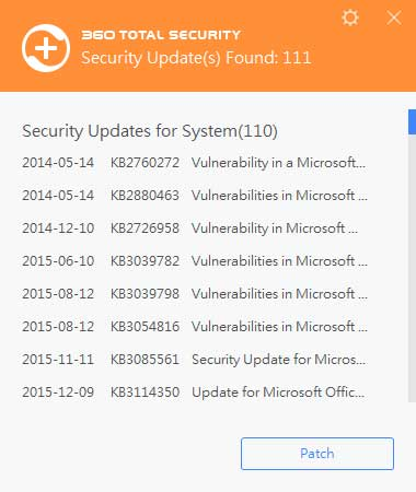 como desinstalar 360 total security windows 10