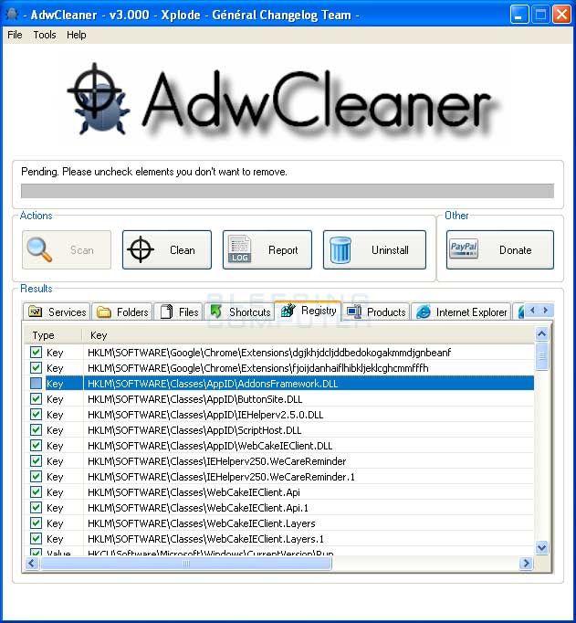 Page 1 | AdwCleaner - Free removal Adware, Toolbars and Hijacker [#FreeDownload #PC #Wind... Published by Trony on Monday, 15 December 2014 in Computers - WebMastering - Consolle (Design's Factory)