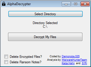 Download AlphaDecrypter