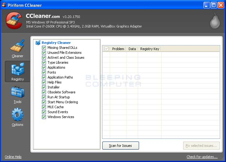 ccleaner in italiano gratis