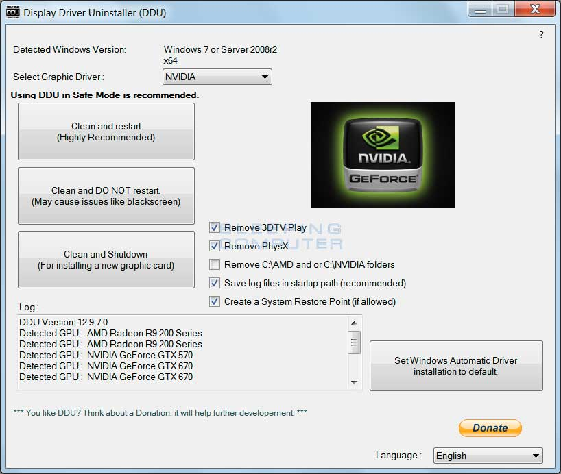 nvidia graphics card download windows vista