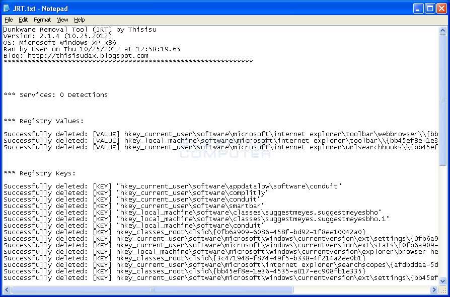 Free Toolbar Removal Tool