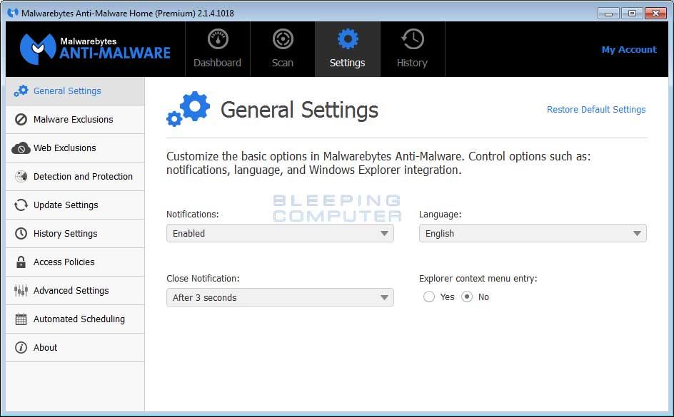 Malwarebytes Cybersecurity for Windows Mac Android & iOS