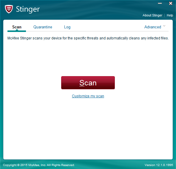 Download Mcafee Stinger