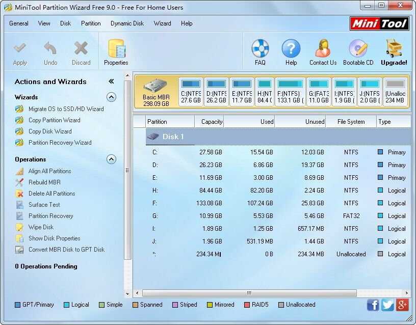 minitool partition wizard professional edition 8.1 free download
