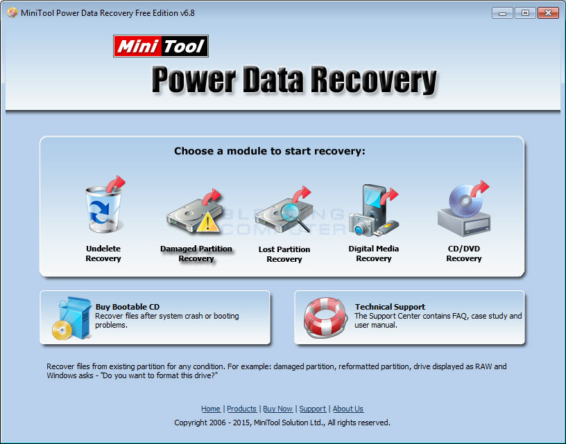 download minitools power data recovery