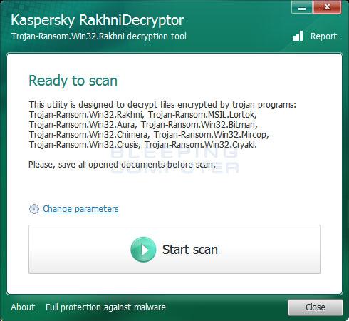 kaspersky ransomware decryptor download free