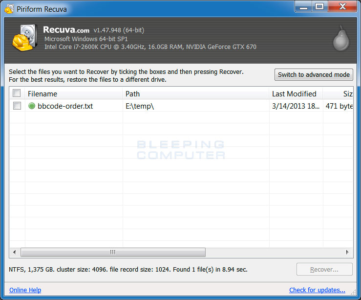 free download recuva software for windows 8.1