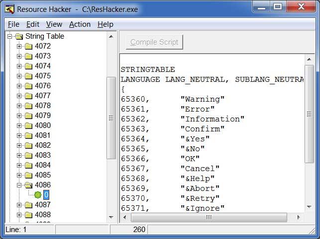 resource hacker free download for windows 7