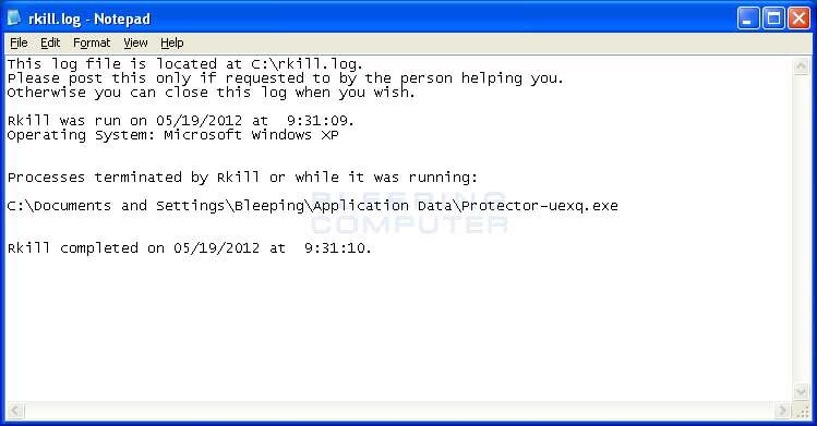 Windows 7 RKill 2.9.1.0 full