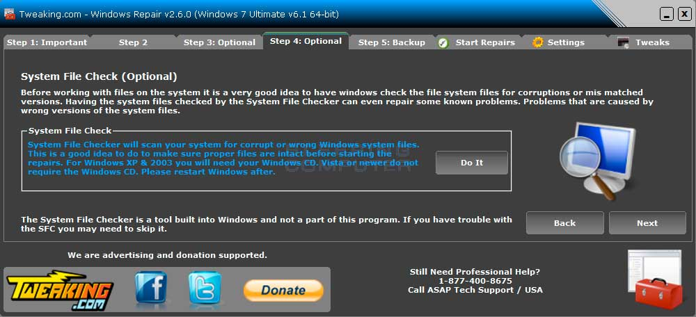 Download Windows Repair (All In One)