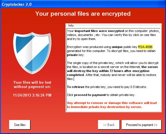 Secuestro Ransomware